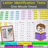 Letter Identification Assessment - One Minute Timed Testing