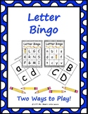 Letter Identification Bingo!