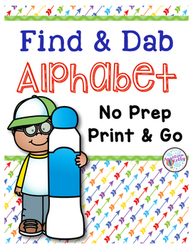 Alphabet Letter Identification: Bingo Dauber Pages