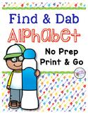 Alphabet Letter Identification: Bingo Dauber Pages