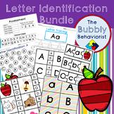 Literacy Centers: Letter Identification Bundle-Common Core Aligned
