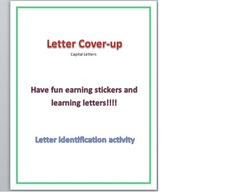 Letter Identification Cover-up