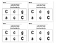 Letter Identification Exit Tickets