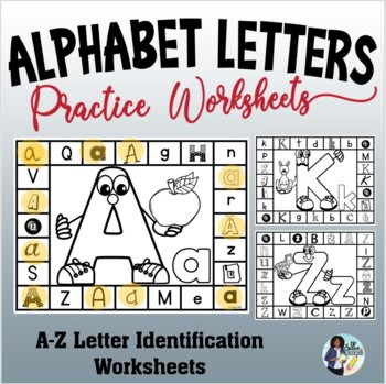 Letter Identification Fun Worksheets