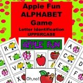 UPPERCASE Letter Identification Game - Apple Fun