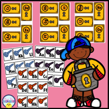 Letter Identification Game/Center Activity