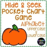 Letter Identification Game -  Fall Pumpkins