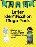 Letter Identification Intervention Pack