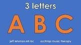 Letter Identification & Letter-Sound Correspondence Songs