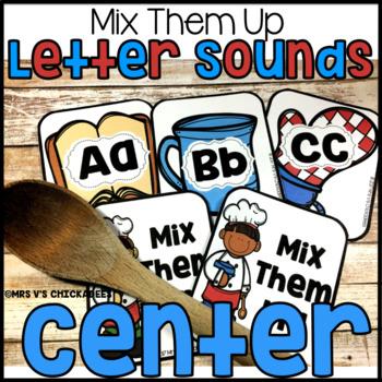 Letter Identification & Letter Sound Phonics Center
