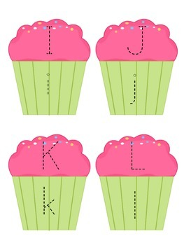 Letter Identification Match Double Pack