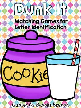 Letter Identification Matching Games - Lower and Upper Case