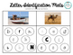 Beginning Sound & Letter Identification Mats