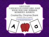 Letter Identification and Beginning Sounds Memory Games
