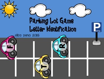 Letter Identification: Parking Lot Game