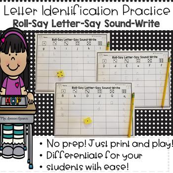 Letter Identification Practice