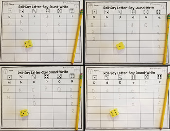 Letter Identification Practice