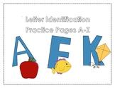 Letter Identification Practice A-Z
