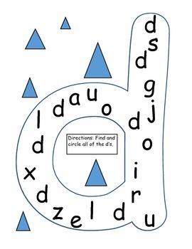 Letter Identification Practice (Lower Case)