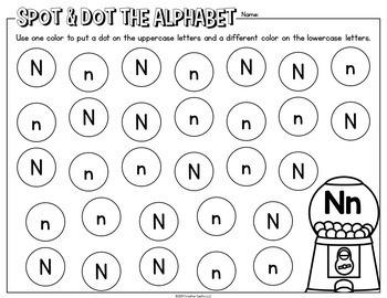 Alphabet Letter Identification Printables