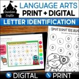 Alphabet Worksheets for Daubers