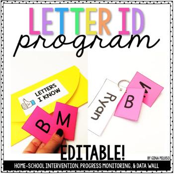 Letter Identification Program {EDITABLE}