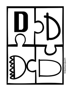 Letter Identification Puzzles