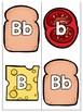Letter Identification Sandwich Stackers