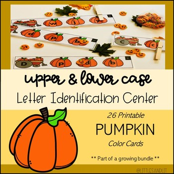 Letter Identification Seasonal Bundle