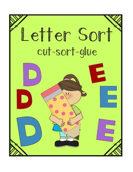 Letter Identification Sort