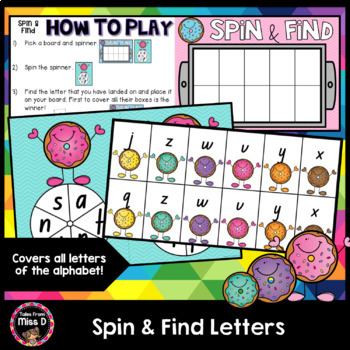 Letter Identification - Spin and Find