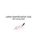 Letter Identification Task