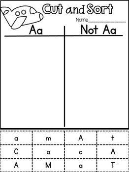 Letter Identification {With an Interactive Twist}