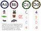 Letter Identification and Beginning Sound Center Aa to Zz