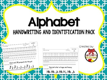 Letter Identification and Handwriting Practice