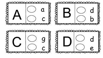 Letter Identification and Letter Sounds Bingo Dauber Activities