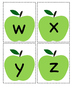 Letter Identification and Matching -Apples