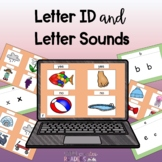 Letter Identification and Sounds with Google Slides