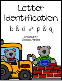 Letter Identification - b & d and p & q