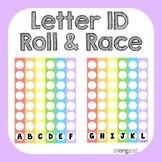 Letter Identification or Sound Roll and Race Literacy Center