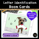 Lowercase Letter Recognition   Boom Cards