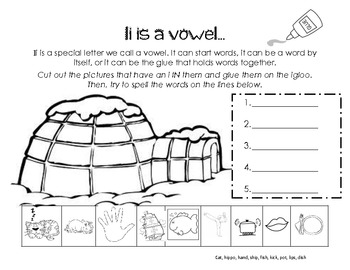 Letter Ii Activity Packet