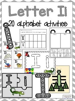 Letter Ii Alphabet Activities (Games, Printables, and Craftivities)