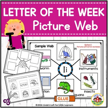 Letter Ii Beginning Sound Picture Web Activity