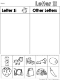 Letter Ii Beginning Sound Sort/Phonemic Awareness
