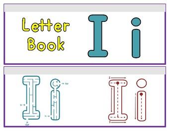 Letter Ii Binder Book