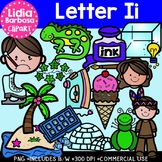 Letter Ii Digital Clipart