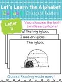 Letter Ii *Editable* Alphabet Emergent Reader