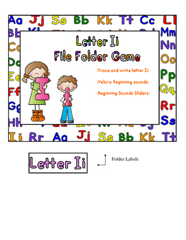 Letter Ii File Folder Game
