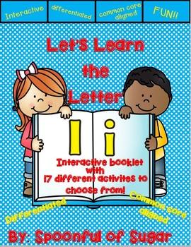 Letter Ii- Interactive Activities Booklet